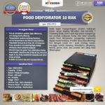 Jual Mesin Food Dehydrator 10 Rak (MKS-DR10) di Bogor