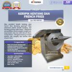 Jual Mesin Keripik Kentang dan French Fries KRP650 di Bogor