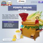 Jual Mesin Pemipil Jagung PPL-1000 di Bogor