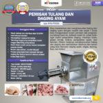 Jual Pemisah Tulang dan Daging Ayam PTA500 di Bogor