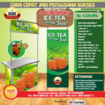 Paket UsahaIce Tea Java Latte Program BOM