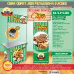 Paket Usaha Krispy Crepes (GAS) Program BOM