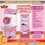 Paket Usaha Sweet Cotton Candy Program BOM