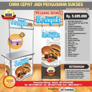 Paket Usaha Sweet Dorayaki ( Gas ) Program BOM