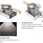Jual Mesin Egg Waffle Listrik (EW06) di Bogor