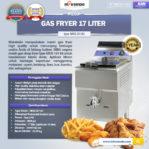 Jual Mesin Gas Fryer 17 Liter (MKS-GF181) di Bogor