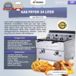 Jual Mesin Gas Fryer 34 Liter (MKS-GF182) di Bogor