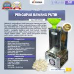 Jual Mesin Pengupas Bawang Putih (BWG180) di Bogor