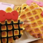 Jual Mesin Waffle Bentuk Hello Kitty (Kitty2) di Bogor