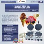 Jual Pembuat Cone dan Mangkuk Es Krim (CIC21) di Bogor