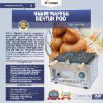 Jual Mesin Waffle Bentuk Poo (MKS-POO2) di Bogor
