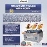 Jual Mesin Waffle Taiyaki Open Mouth (ETYK3) di Bogor