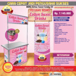 Paket Usaha Sweet Cotton Candy Program BOM