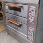 Jual Mesin Oven Roti Gas 2 Rak 4 Loyang (GO24) di Bogor