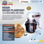 Jual Mixer Planetary 15 Liter New High Quality (MKS-BK15M) di Bogor