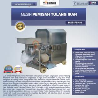 Jual Mesin Pemisah Tulang Ikan (FSH55) di Bogor