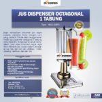 Jual Jus Dispenser Octagonal 1 Tabung (DSP31) di Bogor