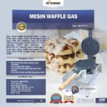 Jual Mesin Waffle Gas (WFL01) di Bogor