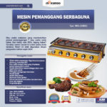 Jual Mesin Pemanggang Sate – BBQ 6 Tungku (Gas) Di Bogor