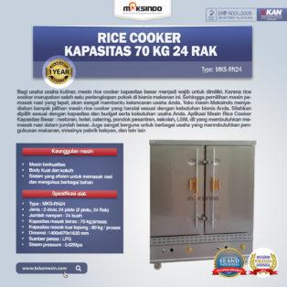 Jual Rice Cooker Kapasitas 70 Kg 24 Rak di Bogor