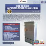 Jual Rice Cooker Kapasitas Besar 35 Kg 12 Rak di Bogor