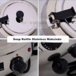 Jual Mesin Penghangat Sop Stainless (Soup Kettle) – SB7000 di Bogor