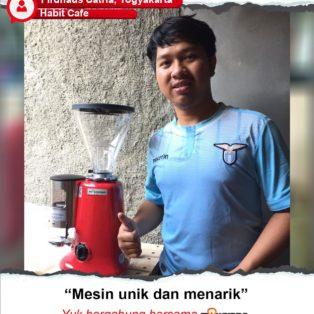 Habit cafe : Mesin Grinder Maksindo Unik dan Menarik Habit cafe : Mesin Grinder Maksindo Unik dan Menarik