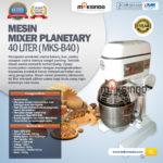 Jual Mesin Mixer Planetary 40 Liter (MKS-40B) di Bogor