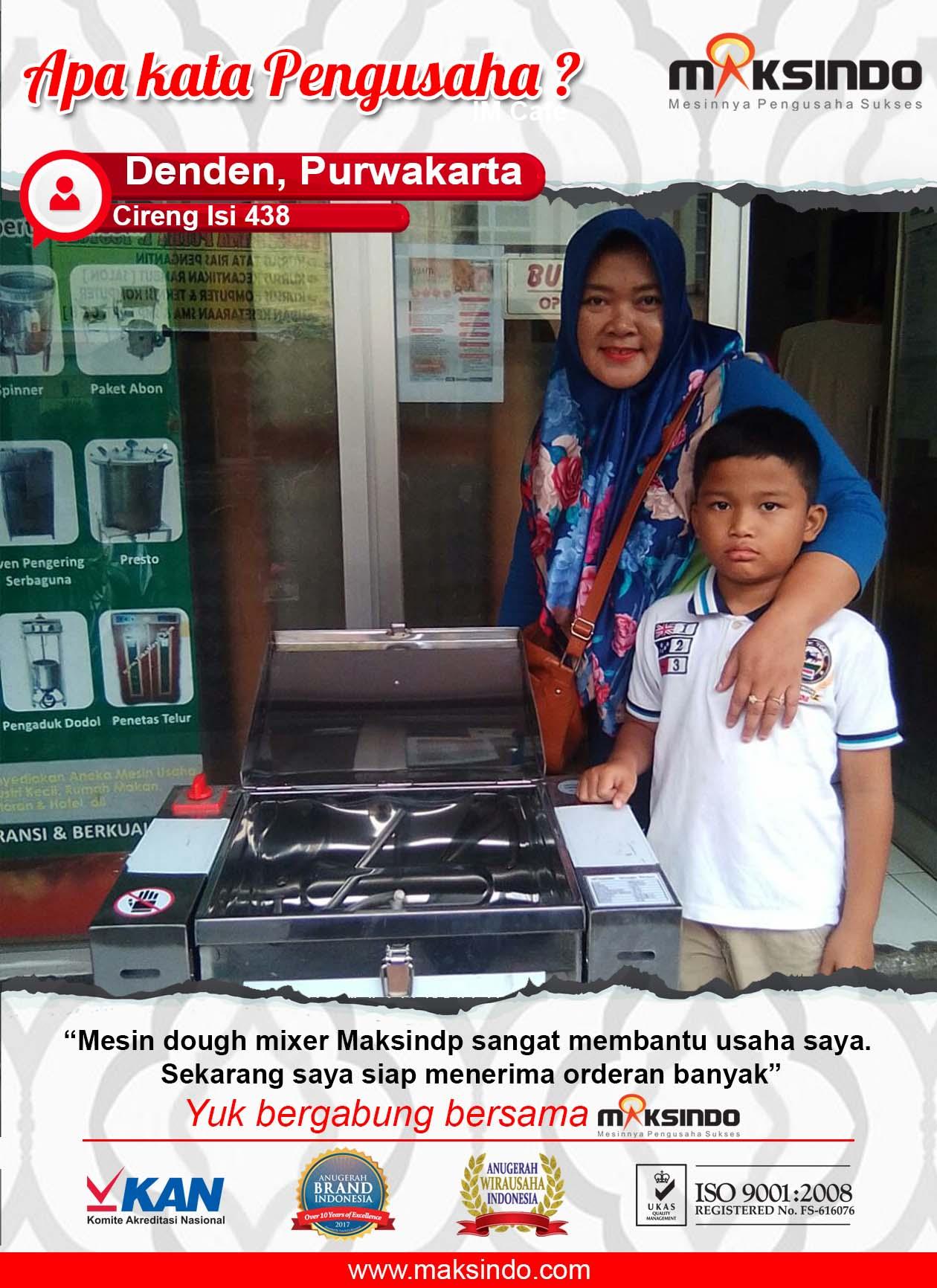 Cireng Isi 438 : Usaha Saya Jadi Semakin Terbantu dengan Mesin Dough Mixer dari Maksindo