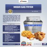 Jual Mesin Gas Fryer MKS-482 di Bogor