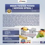 Jual Mesin Kentang Spiral (Twist Potato) di Bogor