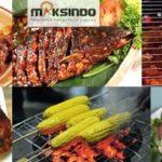Jual Pemanggang BBQ Stainless (gas) 6 Tungku di Bogor