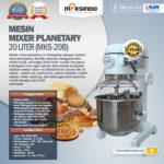 Jual Mesin Mixer Planetary 20 Liter (MKS-20B) di Bogor