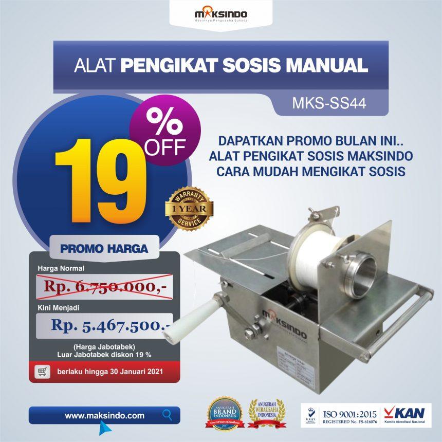 Jual Alat Pengikat Sosis Manual (MKS-SS44) di Bogor