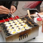 Jual Mesin Gas Quail Egg Grill (Mesin Kue Telur Puyuh) di Bogor