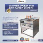 Jual Gas Pasta Cooker With Bain Marie (4 Baskets) MKS-PCBM4 di Bogor