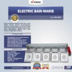 Jual Electric Bain Marie ( Penghangat Makanan) MKS-BMR5 di Bogor