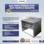 Jual Gas Pasta Cooker With Bain Marie (6 Baskets) MKS-PCBM6 di Bogor