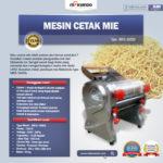Jual Mesin Cetak Mie MKS-160SS di Bogor