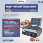 Jual Mesin Pencetak Donut Listrik MKS-DN50 di Bogor