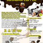 Workshop Juragan Coffee, 31 Maret – 1 April 2018