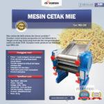 Jual Mesin Cetak Mie (MKS-200) di Bogor