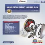 Jual Mesin Cetak Tablet Ukuran 2cm di Bogor
