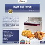 Jual Mesin Gas Fryer 6 Liter MKS-71B di Bogor