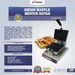 Jual Mesin Waffle Bentuk Kotak (WF-60) di Bogor