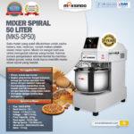 Jual Mixer Spiral 50 Liter (MKS-SP50) di Bogor