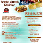 Training Usaha Aneka Snack Kekinian, 15 April 2018
