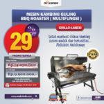 Jual Mesin Kambing Guling BBQ Roaster (GRILLO-LMB33) di Bogor