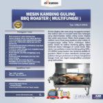 Jual Mesin Kambing Guling BBQ Roaster (GRILLO-LMB44) di Bogor