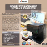 Jual Mesin Printer Kopi dan Kue (Coffee and Cake Printer) di Bogor